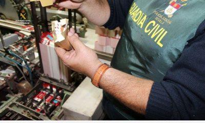 AionSur guardia-tabacos-400x240 Desmantelada la mayor fábrica de tabaco clandestina de España