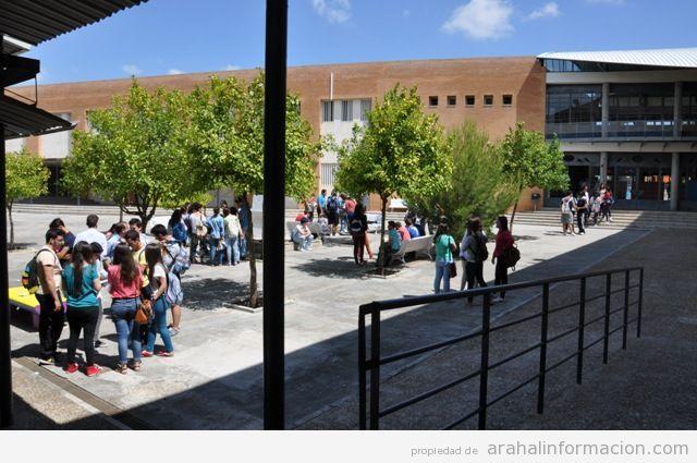 AionSur DSC_0123 Amplia repercusión en la convocatoria de huelga de estudiantes en los IES de Arahal Educación