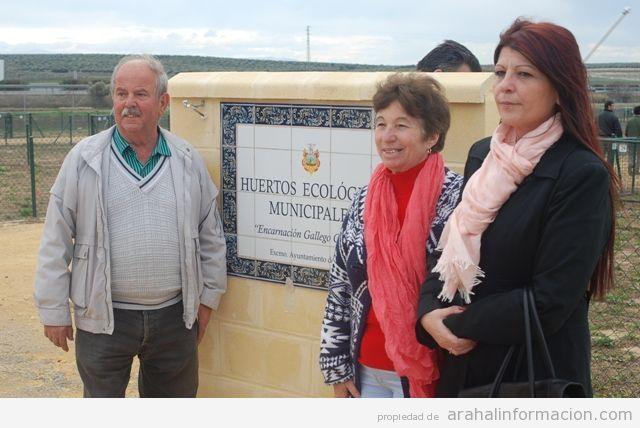 AionSur DSC_0727 Con la adjudicación de los Huertos Ecológicos Municipales se cumple el deseo de su benefactora, Encarnación Gallego Sin categoría Huertos ecológicos Arahal