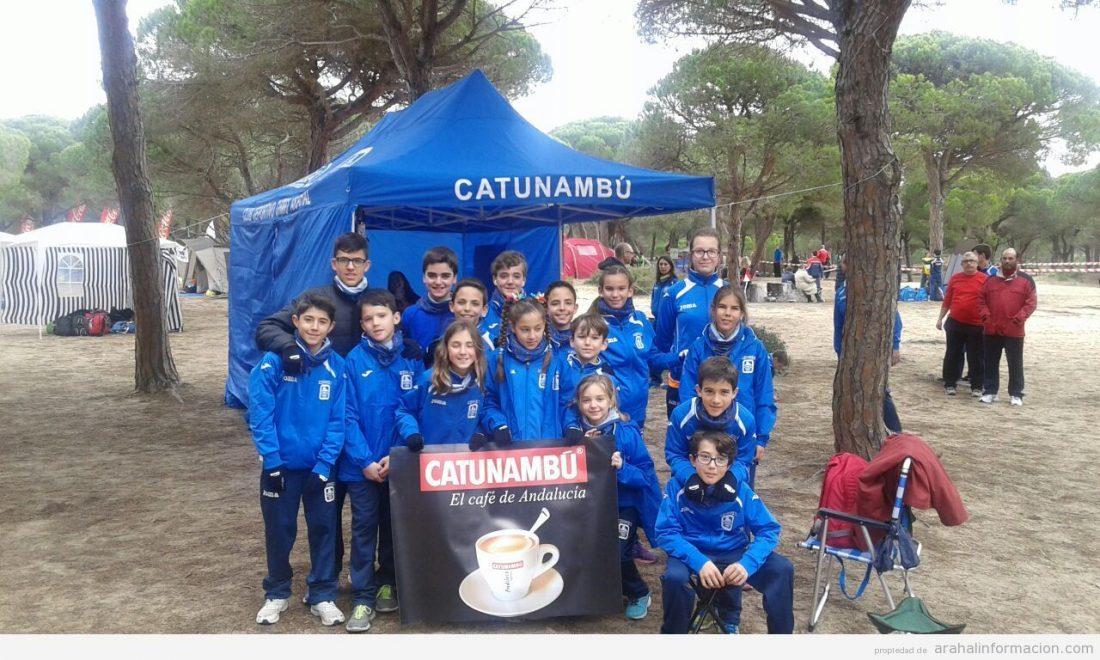 AionSur IMG-20150217-WA0000 Carmen Valle, Fabiola Bermúdez y los más pequeños del Ohmio, destacados en el Campeonato de Andalucía de Campo a través Atletismo Deportes