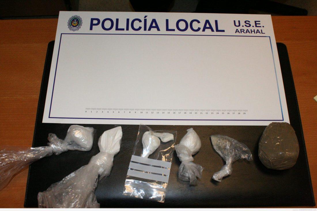 AionSur IMG_8057 Incautados 170 gramos de cocaína, unas 1.700 dosis Sucesos