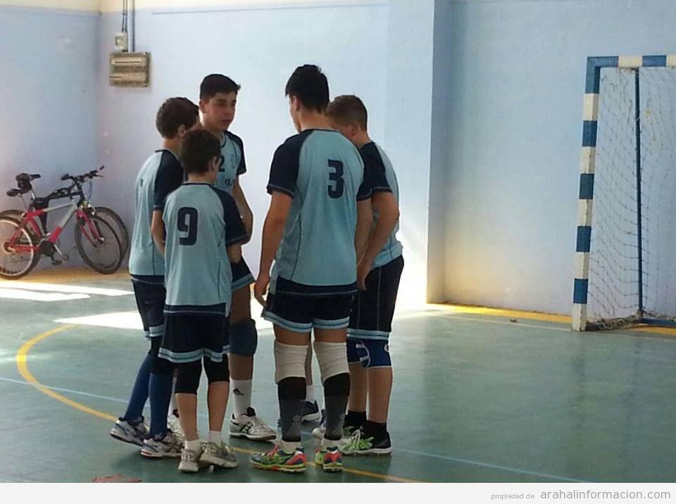 AionSur infantiles-voleibol Los infantiles del CV Arahal, imparables Deportes