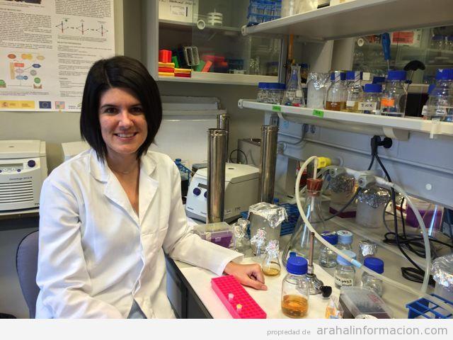 AionSur unnamed-2 Las dos revistas científicas más importantes de EEUU y España publican un artículo de una joven investigadora arahalense Educación
