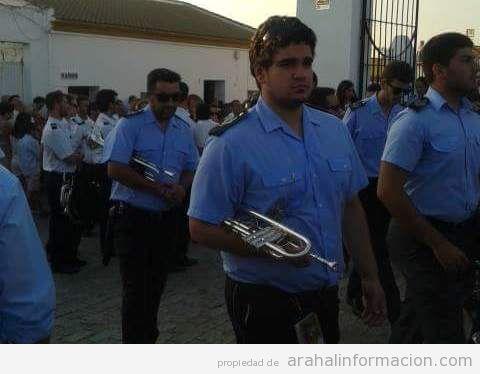 AionSur IMG-20150226-WA0029 Antonio J. García Lobato, músico y compositor de la Santa María Magdalena con sólo 17 años Cultura Semana Santa
