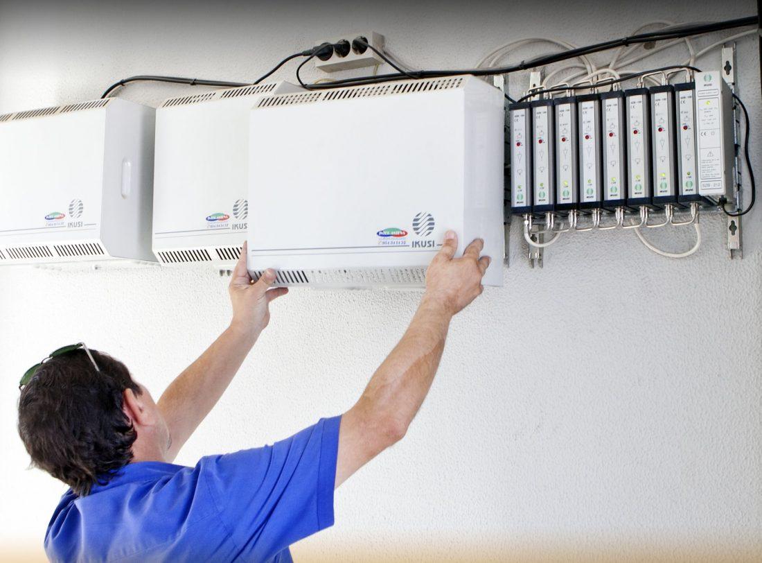 AionSur MG_0455 La provincia de Sevilla ha adaptado un 80 por ciento de las antenas colectivas para poder ver la televisión a partir del día 31 de marzo Provincia