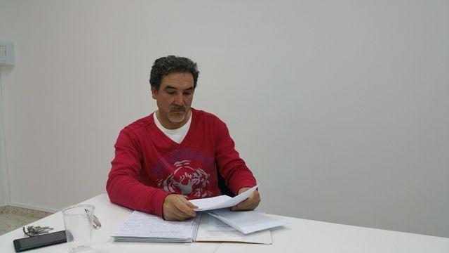 """AionSur 20150414_195337 El ex secretario del PSOE de Arahal dice que se siente """"manipulado, engañado y traicionado"""" por su propio partido Asociaciones"""