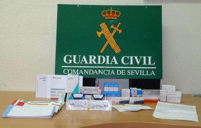 AionSur EFECTOS Detenido en Utrera por vender medicamentos con recetas falsas Sucesos