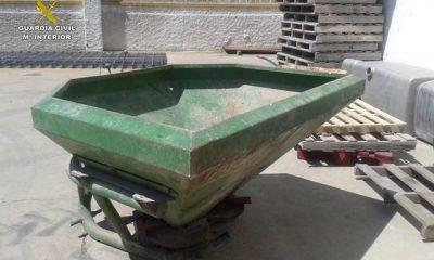 AionSur MAQUINARIA-400x240 Cuatro detenidos, uno menor edad, por robar en una nave agrícola de Jerez Sucesos