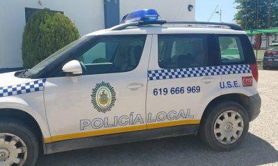 AionSur coche-poli-400x240 4 jóvenes detenidos por presuntamente robar en una vivienda de Arahal Sucesos Detenidos al poco de robar