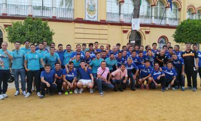 AionSur homenaje-pleno-3-400x240 El balompié arahalense, homenajeado por sus ascensos por la Corporación Municipal Deportes Fútbol Fútbol Sala