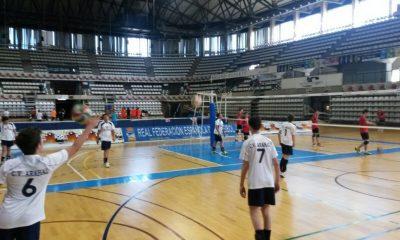 AionSur infantiles-hervas-400x240 Los infantiles del CV Arahal, novenos de España Deportes