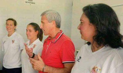 AionSur ana-sevilla-1-400x240 Maribel Márquez y la arahalense Ana Sánchez, nuevas entrenadoras del primer equipo del Sevilla FC femenino Deportes Fútbol