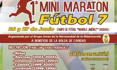AionSur mini-maratón-mod-400x240 Fútbol 7 para los más jóvenes con la 1ª Mini Maratón de la Hermandad de la Misericordia Deportes Fútbol
