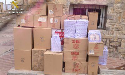 AionSur TABACO_1-400x240 Halladas más de 20.000 cajetillas de tabaco en una vivienda de Lebrija Provincia Sociedad