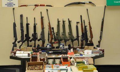 AionSur arsenal-intervenido-400x240 Incautan marihuana y un arsenal de 17 armas a un clan familiar de una finca de Morón Morón de la Frontera Provincia