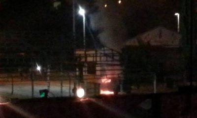AionSur fuego-400x240 Arde un vehículo de forma fortuita en el recinto ferial de Paradas Paradas Sucesos