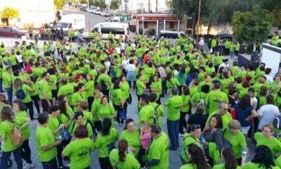 AionSur marcha-alzheimer-1-400x240 Más de 800 personas se echan a la calle para apoyar a Alzhei-Arahal Asociaciones Deportes Sociedad