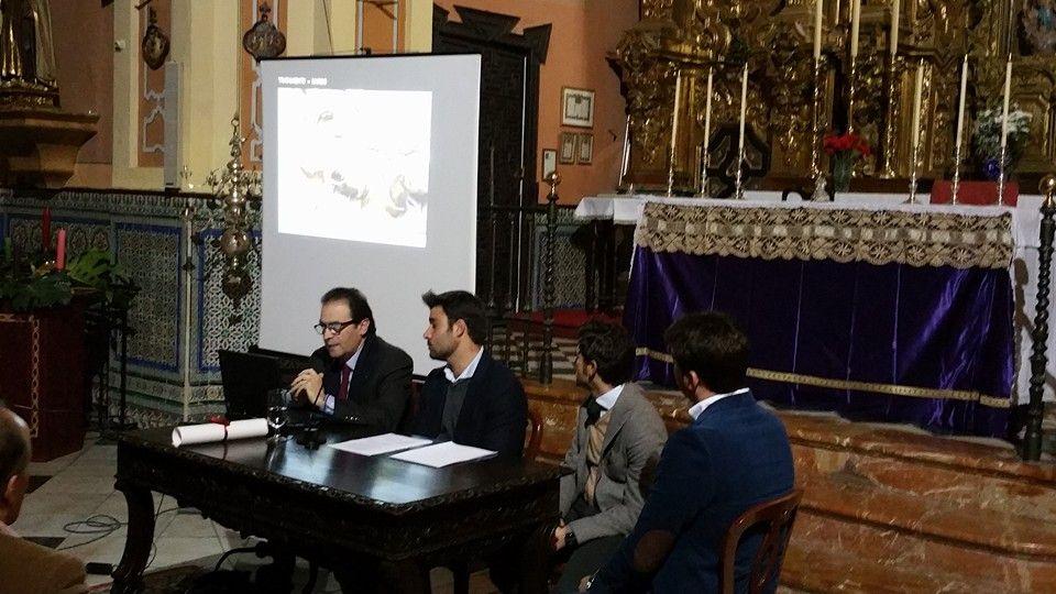 AionSur CUADRO-MISERI La Hermandad de la Misericordia presenta su nueva web y la restauración de varios enseres de su patrimonio Hermandades
