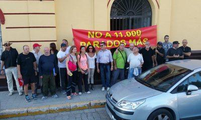 AionSur marcha-1-400x240 La movilización de los Centros Especiales de Empleo pasa por Arahal en su camino hacia Sevilla Asociaciones Sociedad