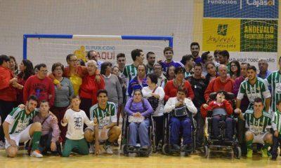 AionSur visita-aima-400x240 AIMA, espectadores de lujo del Real Betis FSN-FSD Puertollano Asociaciones Deportes Fútbol Sala Sociedad