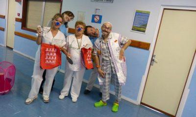 AionSur f1c523d3-d2f4-4b44-924f-727998feba97-400x240 Risas y juegos en los hospitales gracias a la Fundación Teodora y a la Unidad Social del Virgen del Rocío Salud