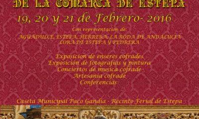 AionSur Cartel-Muestra-Cofrade-400x240 I Muestra de Arte Cofrade de la comarca de Estepa Agenda Cultura Estepa Provincia