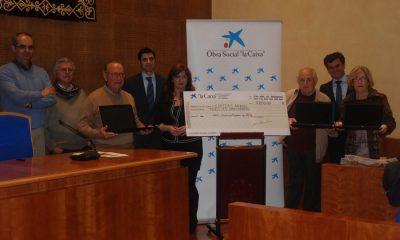 AionSur DSC_0072-400x240 Cáritas recibe 6 ordenadores de la Obra Social La Caixa Asociaciones Sociedad