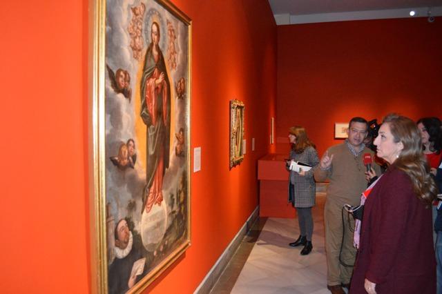 AionSur DSC_0433 58 obras de Francisco Pacheco se exponen en el Museo de Bellas Artes de Sevilla durante 3 meses Cultura