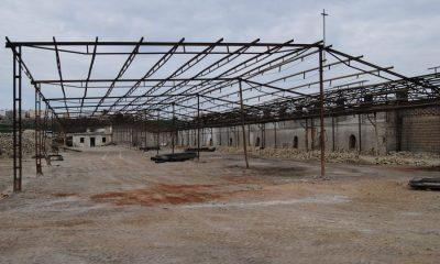 """AionSur DSC_4394-400x240 La Puebla: Continúan las obras de retirada de amianto y desmonte del  tejar """"Los cuarenta"""" La Puebla de Cazalla Provincia"""