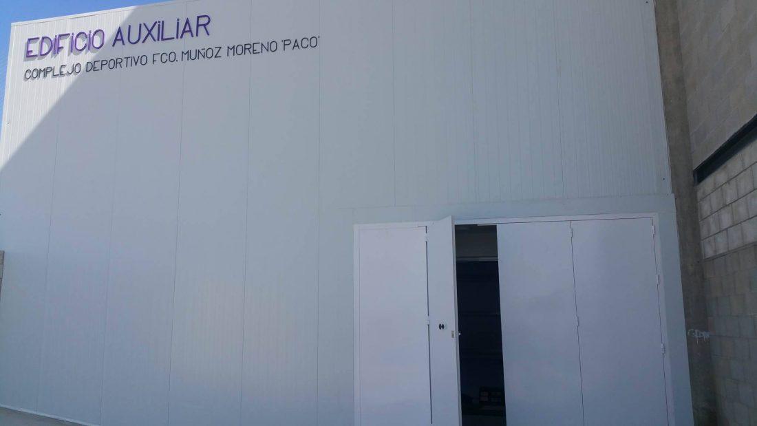 AionSur boxeo-paradas-1 Un edificio para boxeo completará, de momento, el complejo deportivo de Paradas Deportes Paradas Provincia