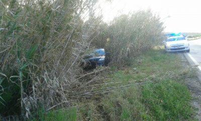 AionSur IMG-20160412-WA0025-400x240 Nuevo accidente por salida de vía en la carretera de Morón/Arahal Sucesos