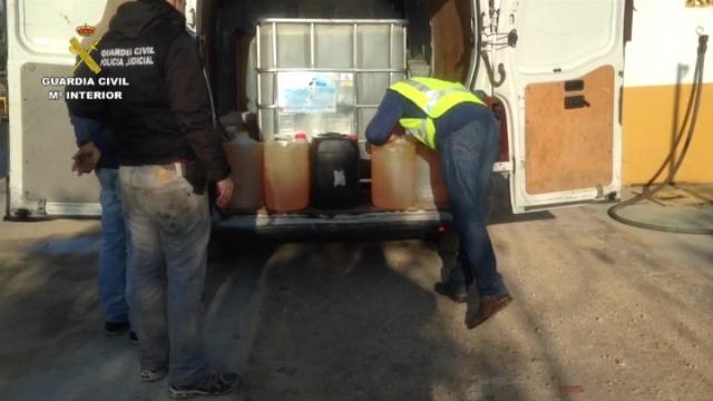 AionSur Op_Bosadera_Sevilla1 Detenidas cinco personas por el robo de hidrocarburos en oleoductos en la comarca de la Campiña Sucesos