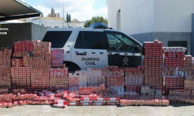AionSur TABACO-COMPLETO-400x240 Cinco detenidos por contrabando de tabaco en la comarca de Las Cabezas de San Juan Sucesos
