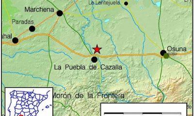 AionSur 13087380_722337284572845_1108494490062294711_n-400x240 Dos pequeños terremotos registrados hoy en Marchena y Puebla de Cazalla Provincia  terremoto Marchena La Puebla de Cazalla