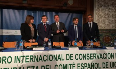 AionSur IMG_0449-400x240 Fiscal destaca en el foro de la UICN los 10 planes que Andalucía aplica para la conservación de 147 especies de flora y fauna Medio Ambiente