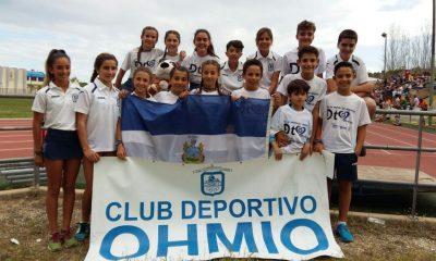 AionSur cantera-2-400x240 La cantera del Ohmio repite los éxitos del pasado año en el Campeonato de Andalucía Atletismo Deportes