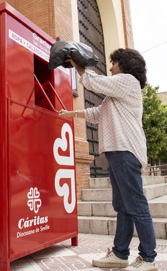 AionSur conten Cáritas instalará contenedores para recoger ropa usada en la provincia sevillana Osuna Provincia Semana Santa