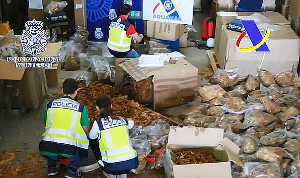 AionSur cordoba1 43 toneladas de tabaco de contrabando de picadura aprehendidos en Córdoba Sucesos