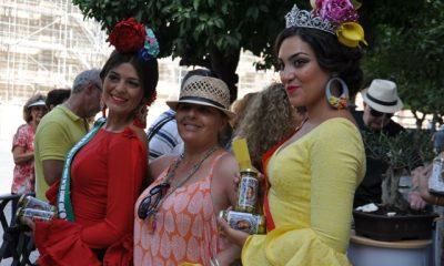 AionSur DSC_0023-400x240 Reina del Verdeo, damas y agricultores promocionan la aceituna de Arahal Feria del Verdeo