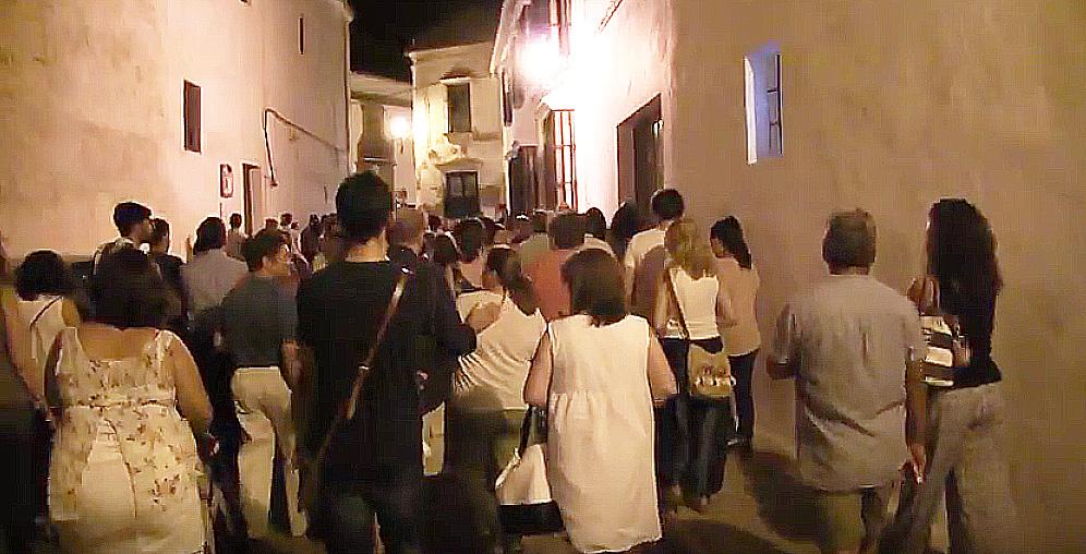 AionSur Primera-ruta-turística-nocturna-por-las-calles-de-Marchena-1 Más de cien personas participan en la primera ruta turística nocturna por las calles de Marchena Cultura Marchena