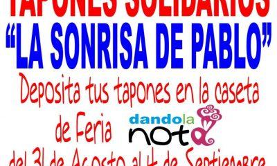 "AionSur TAPONES-SOLIDARIOS-400x240 ""La sonrisa de Pablo"", iniciativa solidaria en la L Feria del Verdeo Feria del Verdeo"