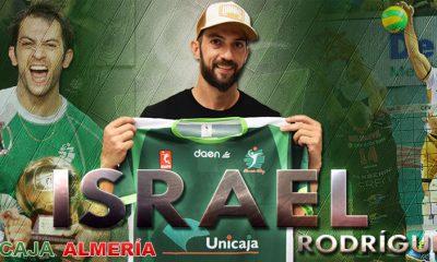 AionSur isra-voley-2-400x240 Israel Rodríguez vuelve al Unicaja Almería Voley Deportes