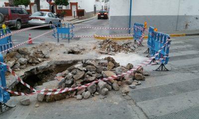 AionSur 20160919_202523-400x240 Se complica la avería de la red de suministro de agua de la calle Madrid Sin categoría