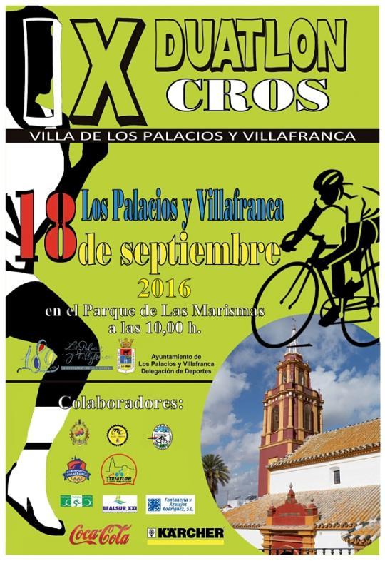 AionSur image IX Duatlón Cross Villa de Los Palacios y Villafranca Deportes Los Palacios Provincia