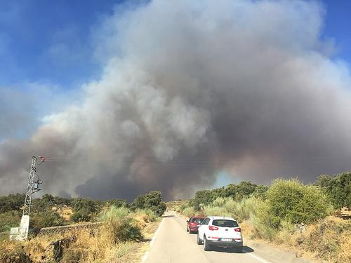 AionSur 30426298241_2969b5d0c6 El Ayuntamiento de El Castillo de las Guardas pide celeridad para que se declare la zona del incendio como catastrófica Provincia