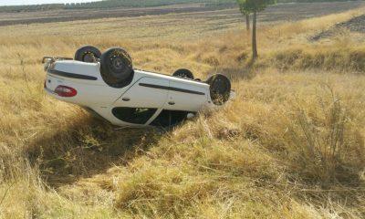 AionSur accidente-1-400x240 La historia se repite: Nuevo accidente en la carretera Arahal-Morón Morón de la Frontera Provincia Sucesos