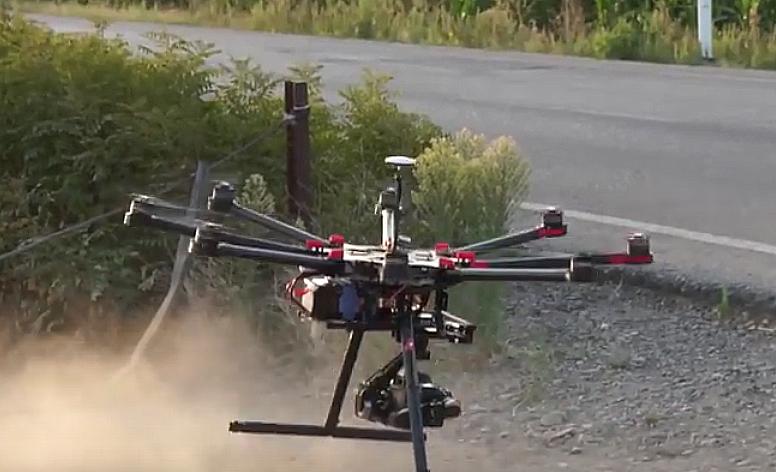 AionSur drones-1 La Junta resalta que el aumento del uso de drones en el campo lleva a una agricultura más precisa, segura y competitiva Agricultura