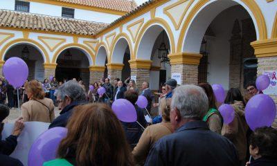AionSur 1-400x240 Cadena humana contra la violencia de género La Puebla de Cazalla Provincia