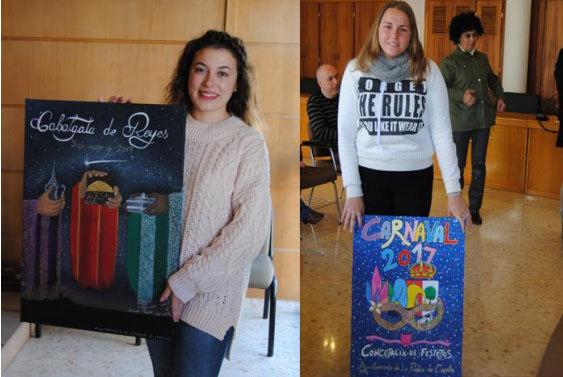AionSur carteles-puebla Elegidos los carteles de Cabalgata de Reyes y Carnaval por votación popular La Puebla Provincia