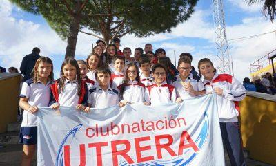 AionSur foto1-23-400x240 28 nadadores del Club Natación Utrera se dan cita en la XXXVIII edición del Trofeo Ntra. Sra. del Águila Deportes Utrera